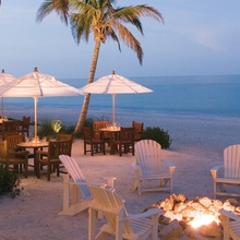 Firepit Beach in Evening