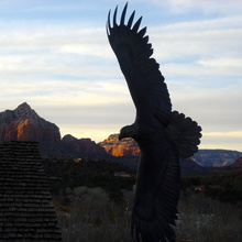 Nancy Eagle in Sedona