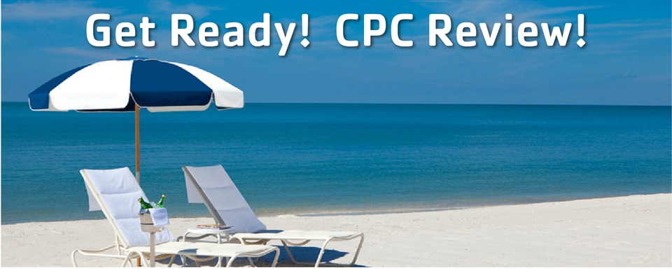 Sun & Sand: 33 by the Sea CPC Review Encore Symposium - A Value-Added Symposium!