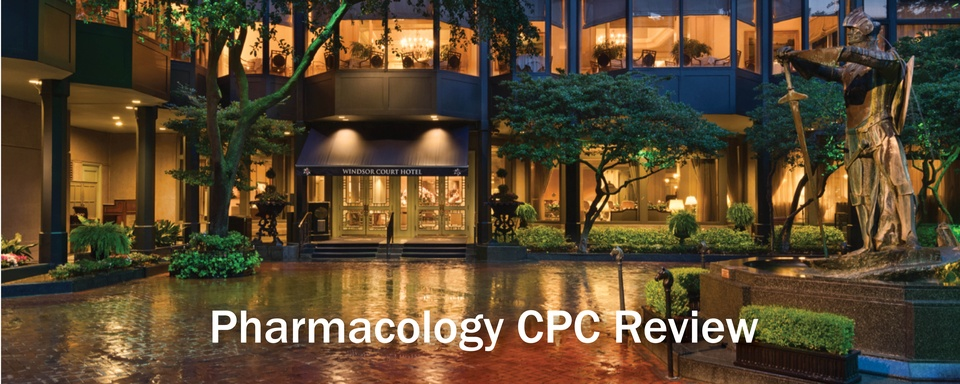 Weekend in New Orleans Encore Pharmacology CPC Review 2021: Combine Seminars for 29 Credits!